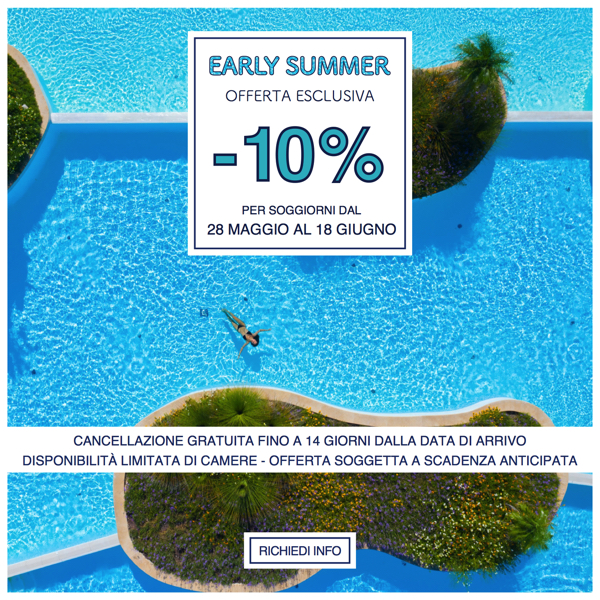 Offerte Early Summer Vivosa Apulia Resort